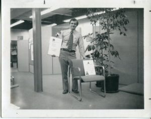 Pete Protzmann with Chair